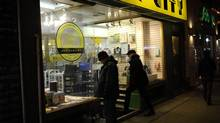 Toronto's Book City is known as the city's largest independent bookstore. Quebec publishers are pushing for legislature that would make book prices fixed for nine months upon their release, and discounts limited to a maximum 10 per cent during that period in order to protect independent bookstores. (Fred Lum/The Globe and Mail)