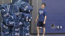 Toronto Maple Leafs' Mitch Marner is pictured at the team's training facility in Toronto, on Thursday September 22, 2016. (Chris Young/THE CANADIAN PRESS)