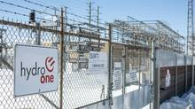The Hydro One Pleasant Transfer Station is seen in Brampton, Ont., on March 9, 2015. (Tim Fraser For The Globe and Mail)