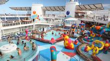 Oasis of the Seas and Allure of the Seas need cruise directors who 'are like Julie [McCoy] on steroids' says veteran people pleaser Allan Brooks. (Tim Aylen)