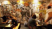 La Carnita's location at 501 College Street is one of four in Toronto. (Deborah Baic/The Globe and Mail)