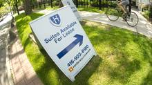 For the past few weeks, Boardwalk Real Estate Investment Trust, one of the country's largest rental apartment landlords, has been a rare bright spot on the Prairies. (Kevin Van Paassen/The Globe and Mail)