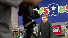 """As chief play officer for Toys """"R"""" Us, 11-year-old Alex Thorne has to juggle testing toys and public appearances with homework and family life. (MOE DOIRON/THE GLOBE AND MAIL)"""