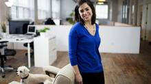 TalentEgg founder Lauren Friese says that cultivating good LinkedIn references can be particularly helpful for younger job seekers looking to stand out. (MICHELLE SIU FOR THE GLOBE AND MAIL)