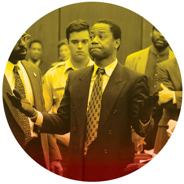 Cuba Gooding Jr. in 'American Crime Story: The People vs. O.J. Simpson'.