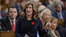 Interim Conservative Leader Rona Ambrose answers a question during question period in the House of Commons on Parliament Hill in Ottawa on Wednesday, November 2, 2016. (Adrian Wyld/THE CANADIAN PRESS)