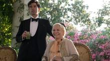 Hamish Linklater as Brice, left, and Jacki Weaver as Grace in Woody Allen's new film Magic in the Moonlight. (Jack English)