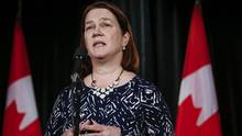 Minister of Health, Jane Philpott says the federal government is investing billions to improve health care for indigenous peoples but a eport says little has improved since last winter. (Jeff McIntosh/THE CANADIAN PRESS)