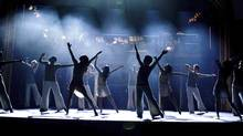 The dance ensemble performs at graduation in Fame, in theatres Sept. 25, 2009. (Saeed Adyani/© 2009 Metro-Goldwyn-Mayer Studios Inc. and Lakeshore EntertainmentGroup LLC.)