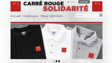 A young Montreal entrepreneur has trademarked the famous red square, which became the ubiquitous symbol of last year's student protest movement in Quebec against tuition-fee hikes