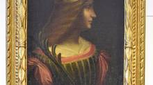 This oil-on-canvas painting of noblewoman Isabella D'Este was seized in Switzerland. (Associated Press)