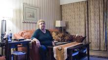 Catherine Davis at her home in Coquitlam, B.C., on February 4, 2016. Concert Properties has just acquired their 21-unit building. (Jimmy Jeong For the Globe and Mail)