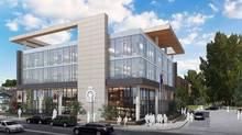 Redevelopment plan, Legion Branch No. 264, Kensington Road , Calgary by Truman Development Corp. (Truman Development Corp.)