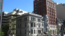A view of Maison Alcan on Sherbrooke Street in Montreal. (Alcan)