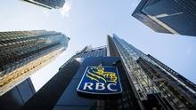 A Royal Bank of Canada logo is seen on Bay Street in the heart of Toronto's financial district in 2015. (Mark Blinch/Reuters)