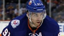 The New York Islanders and centre John Tavares face the Boston Bruins on Monday. Debby Wong-US PRESSWIRE (Debby Wong/US PRESSWIRE)