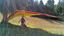 Marv Trudeau, 60, died after a hang-gliding accident on Salt Spring Island in August.