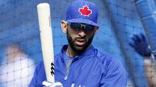 Toronto Blue Jays right fielder Jose Bautistahas ended the past two seasons on the disabled list. (file photo) (FERNANDO MORALES/THE GLOBE AND MAIL)