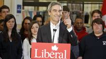 Liberal Leader Michael Ignatieff speaks at Sheridan College in Oakville, Ont., on March 29, 2011. (THE CANADIAN PRESS)