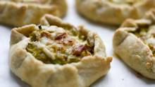 Leeks in Spiced Pastry (Tim Fraser for The Globe and Mail)