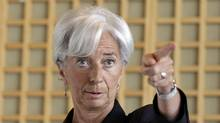 IMF managing director Christine Lagarde. (JACKY NAEGELEN/JACKY NAEGELEN/Reuters)