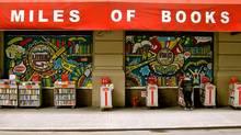 Paw through the sidewalk bargain bins at the Strand in New York. (John Lee)