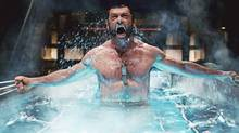 An screen shot from Jackman's first Wolverine film, X-Men Origins: Wolverine (Photo by: James Fisher)