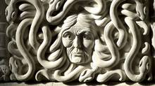 A carving inside the House of Commons foyer (Sean Kilpatrick/CP)