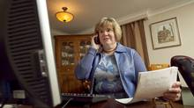 Sarah Hisey, who is currently on the job market, has learned to make calls immediately after getting a networking lead. (JENNIFER ROBERTS/Jennifer Roberts for the)