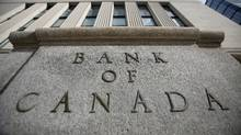 A sign is pictured outside the Bank of Canada building in Ottawa. (CHRIS WATTIE/REUTERS)