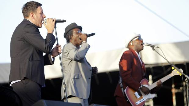 The Specials: Ghost Town Spooky, psychedelic ska from 1981, in which happier days are recalled and sound effects mimic either an eerie wind or an ambulance siren. Inspired by the riots in Bristol and Brixton of 1980, it was a chart topper in 1981. (Mario Anzuoni/REUTERS)