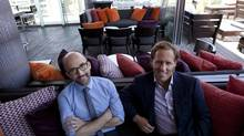 The coming-of-age film has perennial appeal, say Nat Faxon, right, and Jim Rash, the writers/directors of The Way, Way Back. (Deborah Baic/The Globe and Mail)