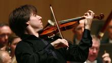 Violinist Joshua Bell in performance (Fernando Morales/The Globe and Mail)