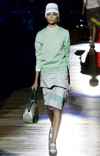 The pullover sweatshirt, on the runway (JP Yim / Getty Images/JP Yim / Getty Images)