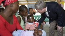Prime Minister Stephen Harper in Port-au-Prince, 2007: It's time for Canada to deliver (Ryan Remiorz)