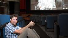 Canadian filmmaker Jeffery St. Jules takes a break from editing his current film to pose for a photo at the Royal Cinema on College St. in Toronto. His new film Bang Bang Baby will be appearing at the upcoming Toronto International Film Festival. (John Hryniuk for The Globe and Mail)