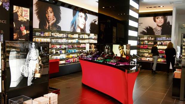 Lash Bar. Check. Nail Station. Check. Sephora's New Store