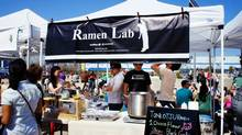 Smorgasburg at Brooklyn's East River State Park some of the most inventive food in the city. (Barbara Ramsay Orr)