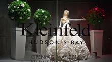 Kleinfeld's bridal boutique is being prepped for a May opening at The Bay's Queen Street store. The historic Toronto store has been sold to Cadillac Fairview and then leased back to The Bay. (Galit Rodan For The Globe and Mail)