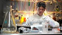 Neil Patrick Harris in Dr Horrible's Sing-Along Blog. The actor also appeared in one of the earlier Old Spice commercials.