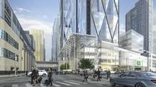 Real estate company Ivanhoé Cambridge, and Metrolinx, the Province of Ontario's regional transportation agency for the Greater Toronto and Hamilton Area, announced today an agreement that sets the stage for a forward-looking, integrated office and transit development in downtown Toronto. (Handout)