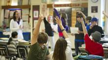 Grade 7 students participate in class at East Alternative School of Toronto (E.A.S.T.) in Toronto in 2011. E.A.ST. is an alternative school promoting social justice, equity and compassion. (Kevin Van Paassen/The Globe and Mail/Kevin Van Paassen/The Globe and Mail)