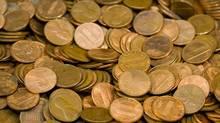 Pile of pennies (photos.com)