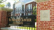 St. Francis Xavier University in Antigonish, N.S., will join Acadia, Bishop's and Mount Allison to comprise the Maple League of Universities in Atlantic Canada. (PAUL DARROW/The Globe and Mail)