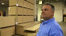 Jim Young, president of Postform Ltd. (Tenille Bonoguore)