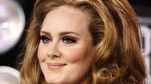 Singer Adele arrives at the 2011 MTV Video Music Awards in Los Angeles, August 28, 2011. (Reuters)