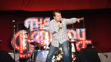 Bruce Mcculloch at Outside Lands with the Sketchfest in San Francisco, August 10, 2013. (NADER KHOURI)