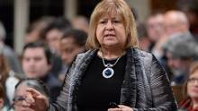 Labour Minister MaryAnn Mihychuk answers a question in the House of Commons in Ottawa on April 11, 2016. (Adrian Wyld/THE CANADIAN PRESS)