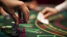 Blackjack at the River Rock Casino in Richmond, B.C. June 11, 2009. (John Lehmann/Globe and Mail/John Lehmann/Globe and Mail)