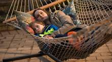 Jacob Tremblay and Brie Larson star in Room, which picked up four nominations, including Larson for best actress. (George Kraychyk/Elevation Pictures)